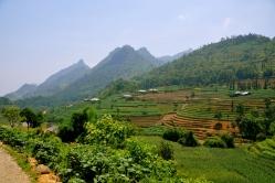 The scenery around Can Cau Market