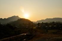Sunset over Bac Ha