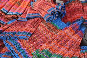 Flower Hmong skirts manufactured in China