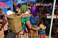 Holding hands at Bac Ha market