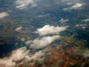 Nanning from above