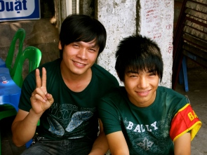 Two new Vietnamese friends