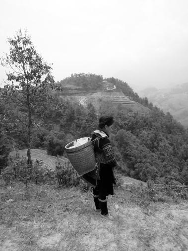 A Black Hmong woman