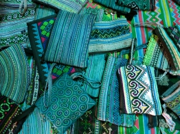 Black Hmong handicrafts