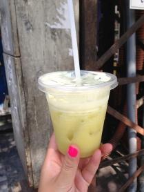 Nuoc Mia: sugarcane juice with lime
