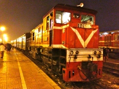 Night train to Bac Ha