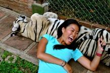 She's ferocious...