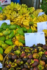 Bananas, Mangos, Mangosteen