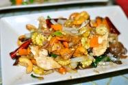 Chicken and cashew stir fry