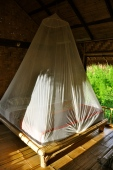 Inside our bungalow at Bamboo Nest de Chiang Rai