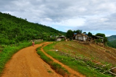 The village of our homestay