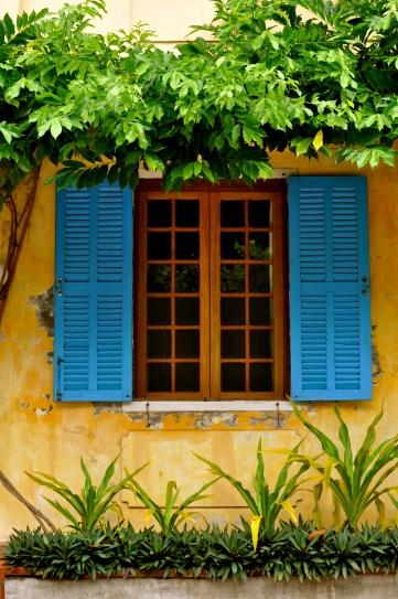 Colorful shutters