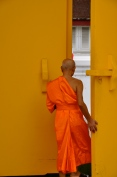 Monk at Wat Pho