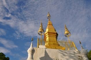Wat on top of Mount Phousi