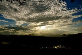 Sunset over LPB