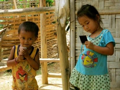 Watching their photos develop