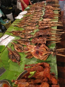 BBQ for sale at the night market
