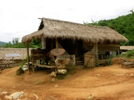 Tradition Lahu tribe house