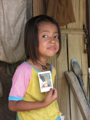A young Akha girl