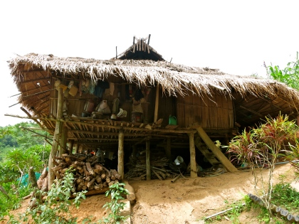 Tradition Akha hut