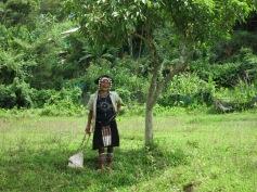Woman at the Akha village