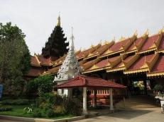 Shan temple in Tachilek, Myanmar