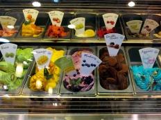 Ice cream options at Terminal 21