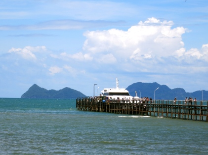 The ferry jetty