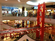 The San Francisco themed section of Terminal 21