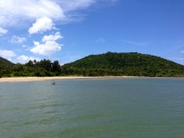 The beach in Chumphon