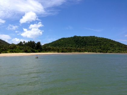 The beach in Chumphon